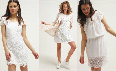 Flotte hvide kjoler fra ONLY til kvinder