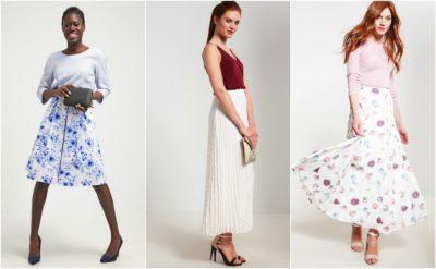 Flotte hvide nederdele fra mint & berry til kvinder
