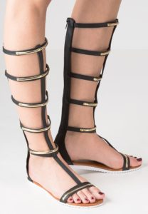 Missguided sandaler med skaft
