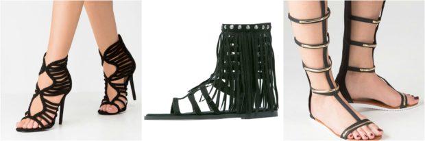 Flotte Missguided sandaler med skaft til kvinder