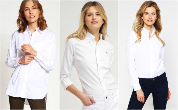 Flotte og feminine Ralph Lauren skjorter til kvinder