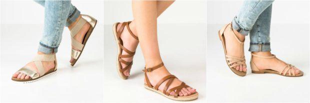 Feminine og flotte Pier One sandaler med rem til kvinder